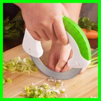 ferramentas de corte de carne venda por atacado-Facas de cozinha da faca do rolamento da cozinha da roda redonda com a lâmina de aço inoxidável Ferramentas de corte da carne vegetal Cortador da pizza do bolo