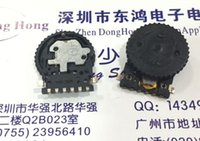 Wholesale Number Wheel - Wholesale- South Korea EVQWK chip encoder wheel pressing switch with 15 positioning number 15*1.6MM