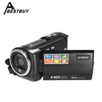 Wholesale rotating camera shot online - Andoer Mini Portable P FPS HD Digital Camera LCD Screen MP X Digital Zoom Anti shake Video Recorder DV Camcorder