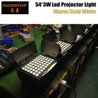 Wholesale high watt lights resale online - Factory Directly Sales Unit x3 Watt Tyanshie High Power Barn Door Led Projector Warm White k Garden Lighting V V