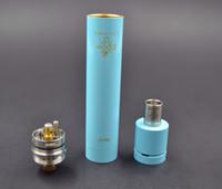 Wholesale rda mod set for sale - Group buy vapelyfe mechanical electronic cigarette rebuildable dripping RDA mod set colors Vapor kit
