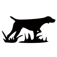 охотничьи собаки оптовых-Горячая Продажа Автомобилей Стикер Для Охоты Собака Стайлинга Автомобилей Стильный Личность Яркие Виниловые Наклейки Бампер Украсить