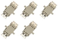 cabos de fibra lc venda por atacado-Fibra Óptica Cabo Adaptador / acoplador LC-LC Duplex de fibra óptica multimodo cabo adaptador / acoplador LC-LC Duplex Multimodo