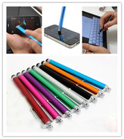 Wholesale Iphone Stylus Pens - Capacitive Stylus Pen Touch Screen Highly sensitive Pen For ipad Phone iPhone Samsung Tablet Mobile Phone