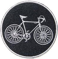 señales de bicicleta al por mayor-Bicicleta BMX Mountain Road Bike Suit Chaqueta Camiseta Parche de hierro en bordado Applique Sign Regalo, 3 PULGADAS Envío Gratis