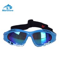 Wholesale Ski Kids Glasses - Wholesale- Marsnow Ski Boys Girls Kids Anti-fog Ski Goggles Snowboard Ski Glasses Outdoor Sunglasses Kid's Winter Skate Anti-UV Glasses