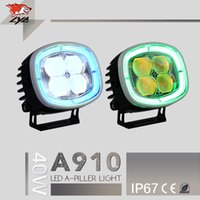 Wholesale Motorcycle Parts Spares - LYC motorcycle spare parts 12V 40w 2500lm 3000K  6000K sunchronized turn signal super bright wholesale led spotlight motorcycle