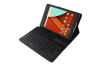 Wholesale Google Nexus Wireless Keyboard - For google Nexus 9 case, stand PU leather Removable Wireless Bluetooth Keyboard tablet Cases for nexus 9 cover