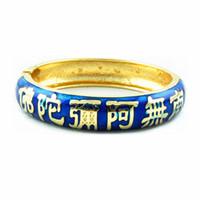 Wholesale Buddha Fashion Bangle - buddha religion bracelet national style bangle fashion Accessories Women Jewelry elegant unique Bangle best gift Z051C
