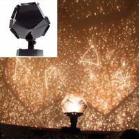 Wholesale Wholesale Dlp Lamps - Wholesale-Romantic Planetarium Star Celestial Projector Cosmos Light Night Sky Lamp New projector bulbs kids projector