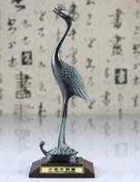 Wholesale Craft Ware - Bronze ware Ganoderma lucidum antique ornaments turtle crane longevity turtle crafts Ganoderma lucidum crane