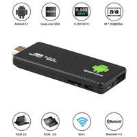 Wholesale Hdmi Dongle Quad Core - MK809 III TV Dongle RK3229 2G 8G Bluetooth Android 5.1 Smart TV Stick KD Mini PC Player AirPlay Miracast DLNA H.265