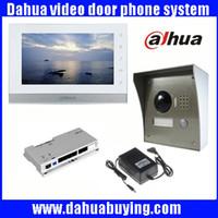"Wholesale Outdoor Intercom Camera - Original english 7"" Touch Screen Dahua VTH1550CH Color Monitor with VTO2000A outdoor IP Metal Villa Outdoor Video Intercom sysytem VTOb108"
