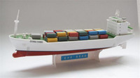 Wholesale toy models containers for sale - Group buy DIY container vessel electric power ship model can be in surface navigation Educational Toys Children Gifts