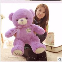 Wholesale Ted Bear Toy Wholesale - Wholesale- Hot 1 Piece 30cm Kawaii Small Teddy Bears Plush Soft Toys Stuffed Animals Ted Dolls with lavender bag ,Children Gift