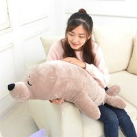 Wholesale lion plush - 1pcs Sea World Animal Sea Lions Seals Plush Doll Novelty Children Kids Stuffed Toy