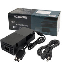 Wholesale Black Charger Adapter Ac - Xbox One Power Supply Brick, [Advanced QUIET VERSION] AC Adapter Power Supply Charger Cord Replacement for Xbox One 100-240V, Black