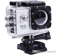 Wholesale Waterproof Hd Camcorder - 4k sport camera action camera SJ4000 style A9 2 Inch LCD Screen 1080P 30M Waterproof Camcorders SJcam Helmet Sport DV Car DVR good