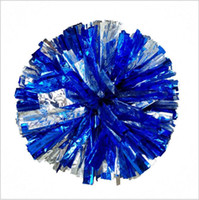 Wholesale Wholesale Cheerleading Products - pom poms Cheerleading 50g Cheering pompom Metallic Pom Pom Cheerleading products many colors for your choose