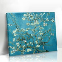 Wholesale Wholesale Painting Frame Canvas - Canvas Oil Painting Van Gogh Flowers For Home Wall Decor Without Frame One Panel Hand-Painted Famous Paintings
