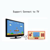 Wholesale Fc Game Console - RS-20 FC Pocket Game Children's Handheld Game Player 2.6 Inch Color Screen Game Console Compatiable With Standard Transformer