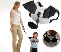 Wholesale Safety Harness Toddler Bat - Free shipping Kid keeper Baby Safety Harness Toddler Reins Harnesses Backpack Straps Bat Bag Anti-lost Walking Win