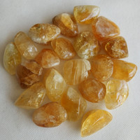 Wholesale Natural Yellow Citrine Crystals - 50g natural Original Yellow Crystal Natural Citrine Polished Gravel Specimen DIY Materials Stone and Mineral Stone