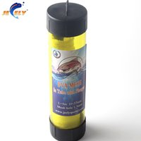 Wholesale Pva Refill - Wholesale- Free shipping Slow Solution 37MM 5M PVA Carp Fishing Mesh Refill In Tube With Plunger