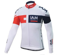 Wholesale Giant Jersey Only - IAM GIANT Popular men's cycling clothing cycling jersey only long sleeves ropa ciclismo hombre pro team maillot ciclismo mtb bike bicicleta
