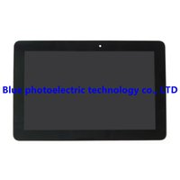 Wholesale Asus Bezel - Wholesale- LCD display + touch screen glass assembly with frame Bezel For Asus Memo Pad 10 ME102A ME102 MCF-101-0990-01-FPC-V4.0