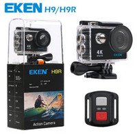 Wholesale waterproof cmos camera - Original EKEN H9 H9R with remote control Ultra HD K WiFi HDMI P LCD D pro Sports camera waterproof MOQ