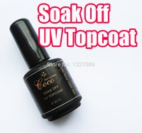 Wholesale Nail Seals - Wholesale- GDCOCO Soak Off UV Gel Topcoat Top Coat for Nail Art Polish Tips Clear 15ml Seal
