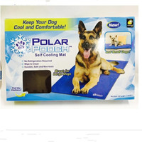Beds black ice cars - POLAR POOCH Pet Ice Pad Multi Function Home Outdoor Car Summer Gel Mat Cat Dog Cooling Pads Hot Sell tf J R