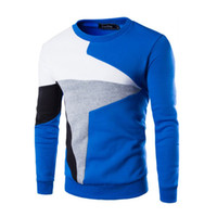 Wholesale Wholesale Mens Sweaters - Wholesale- Winter Fashion Slim Fit Coat Mens Casual Warm Sweater Pullover O-Neck Knitted Sweater Tops