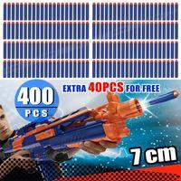 Wholesale Nerf Darts Strike - 400X + 40PCS BONUS Round Head Soft Refill Bullets Darts NERF N-Strike Elite