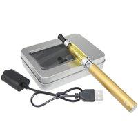 Wholesale Ego Aluminum - Ego CE5 E Cigarette starter Kits CE5 atomizer Ego T Battery Electronic Cigarette vaporizer in aluminum case Kit