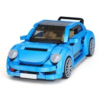 Wholesale Volkswagen Beetle Cars - XingBao 03015 The Volkswagen Beetle Car Set 944pcs with Original Box for Reselling Lepin Blocks Genuine Creative Technic MOC Series XB03015
