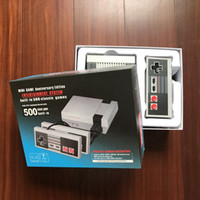 Wholesale Gaming Gifts - Mini TV Video Game Console 500 620 Built-in Classic Games Handheld Gaming Controller Player For NES Windows PC Mac PAL&NTSC Xmas Gift