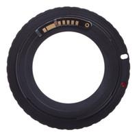Wholesale Eos Rebel T3i - Wholesale- For AF Confirm M42 Mount Lens Adapter for E0S 5D 7D 60D 50D 40D 500D 550D 600D Rebel T2i T3i 1100D (M42-EOS)