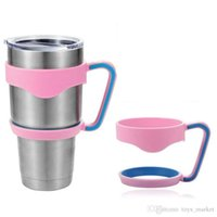 Wholesale Double Wall Color - 3 Color Handles for 30oz Cups Cool Summer for Outdoor Travel Portable Double Wall Car Cups