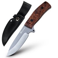 Wholesale Good Quality Fixed Blade Knives - HX OUTDOOR good quality high hardness Camping stainless steel 5Cr15MOV blded rosewood handle knives faca combact hunting knife