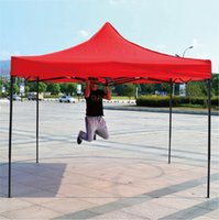 Wholesale Custom Tents - 2mx2m~3X6m Outdoor ad tent in stock Parking Sunshade Coach tent Custom digital printing tent with your logo oxford cloth HQ free shipping