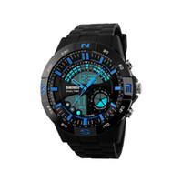 Wholesale Tungsten Watch Sale - 2017 hot sale pointer work Men's sports watches LED light watch running hiking digital shock watches men