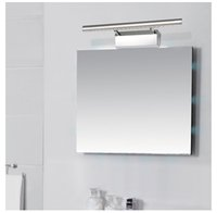 Wholesale Bathroom Led Vanity Lights - 5w7w9w LED Mirror Lights Vanity Light Bathroom Light Make Up Wall Light Picture Front Lamp With Switch 28cm 40cm 55cm 70cm