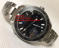 Wholesale Planets Round - Luxury High Quality Watch JH N8 Factory 42mm 45mm Planet Ocean Co-Axial 600M Stainless Steel CAL.8500 Movement Automatic Mens Watches