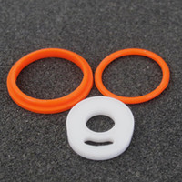 Wholesale Seals Baby - Silicon O Ring Fit TFV8 Baby Tank Seal O-rings Replacement Orings Set For TFV8 Baby Atomizer Best Price DHL Free