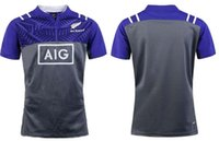 Wholesale Picture Seasons - Free shipping New Zealand Rugby Jersey Shirt 2015 2016 2017 Season, Mens Rugby Football Jersey ,Size S-XXXL The picture color !