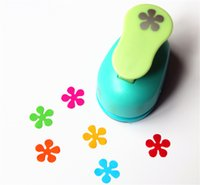 Wholesale Wholesale Craft Puncher - Wholesale- free shipping flower paper punch 15mm 5 8'' shapes craft punch diy puncher paper cutter scrapbooking punches scrapbook S29876