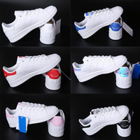 Wholesale Shoes Skateboarding Casual - 2017 Factory Wholesale Classic casual shoes new stan shoes fashion smith sneakers casual leather men women sport running shoes