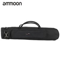 Wholesale Sax Pads - Wholesale- Soprano Saxophone Sax Bag Case Straight Type Thicken Padded Foam Non-woven Inner Cloth with Adjustable Shoulder Strap